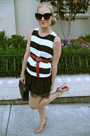 Karen Walker sunglasses - Christain Louboutin heels