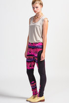 Mink-pink-leggings