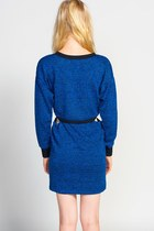Lucca Couture Cobalt Cuts Out Dress Dresses