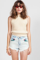 Lazy Oaf Rodeo Rose Shorts