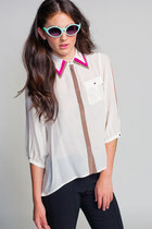 Line-dot-blouse