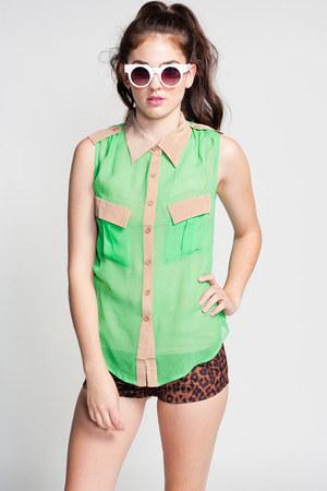 SYLK blouse