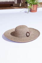 Fryar Wide Brim Straw Hat