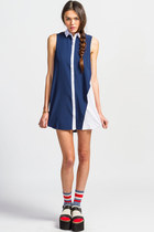 Mink Pink Twisted Theory Dress
