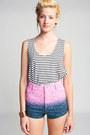 Mink-pink-shorts