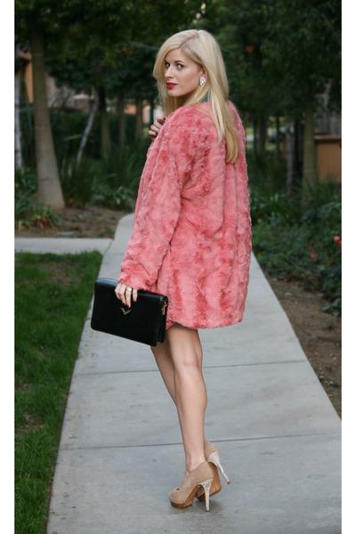 snakeskin Zara heels - holiday dress Cameo the label dress