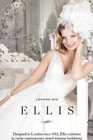 fashion Ellis Bridals dress - chic Kelsey Rose Wedding Styles dress