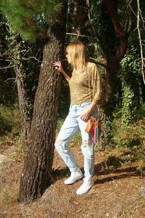 Zara jeans - Zara bag - Zara t-shirt - Converse sneakers