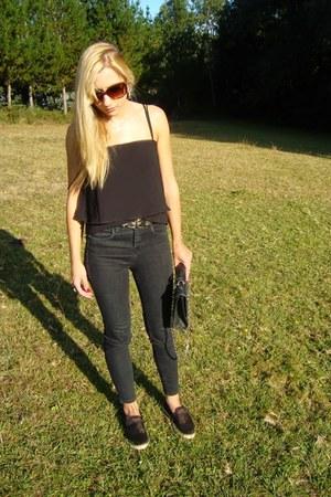 Zara shoes - pull&bear jeans - Bershka top