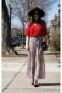Pink-top-shop-skirt