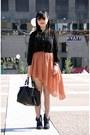 Black-forever-21-blouse