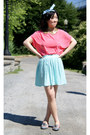 Aquamarine-forever-21-shirt