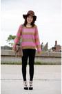 H-m-hat-stripes-h-m-sweater-h-m-leggings