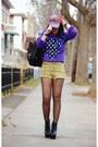 Deep-purple-h-m-sweater