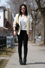 Light-yellow-america-apparel-blazer