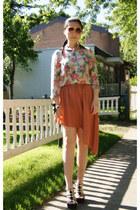 bronze Olivia skirt