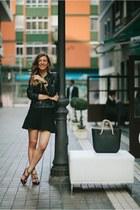 Massimo Dutti jacket - Zara skirt - Valentino heels