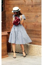 Prada bag - Zara dress