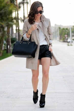 Adolfo Dominguez jacket - Michael Kors bag