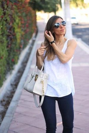 Zara jeans - Michael Kors bag - Zara top