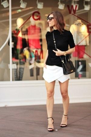 Zara blouse - Steve Madden sandals