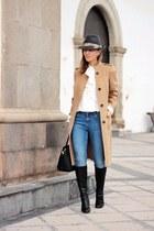 Carolina Herrera coat - Zara jeans