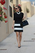 Zara skirt - Furla bag - Zara top