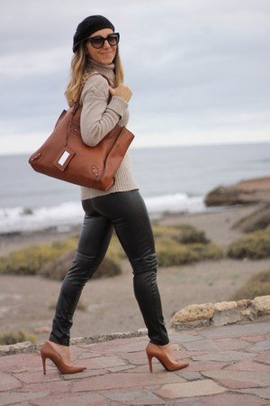 balenciaga bag - Marella sweater - Michael Kors leggings