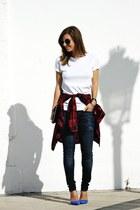 Zara shirt - Mango jeans - Zara pumps