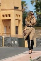 Carolina Herrera coat - Zara pants