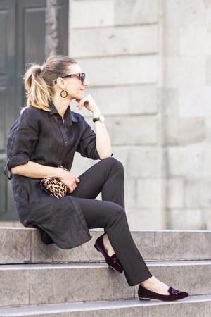 escada shirt - Zara pants - Massimo Dutti loafers