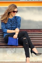 Boticca bag - Mango jeans - Michael Kors sweater