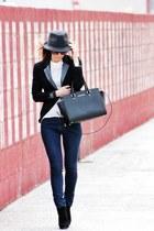 Michael Kors bag - Zara jeans - Maje blazer - Maje top