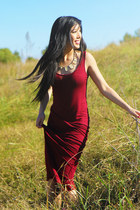 maxi dress bohoo dress