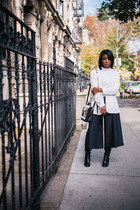 Culottes and Blazers : A lesson in layering