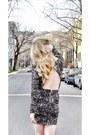 Black-tart-collections-dress-beige-christian-louboutin-heels
