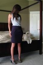 Forever21 skirt - kohls t-shirt - seychelles shoes