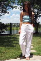 Wet Seal top - petite sophisticate pants