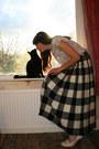 Black-vintage-jaeger-skirt-peach-vintage-blouse-neutral-vintage-ravel-heels