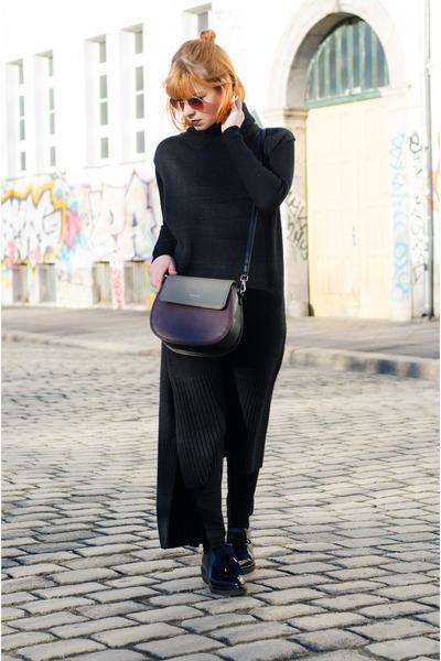 vegan Matt & Nat bag - knit maxi dress Urban Outfitters dress