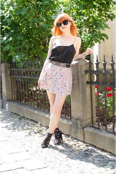 gladiator asos boots - floral nowIStyle shorts