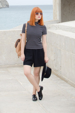 striped American Apparel top