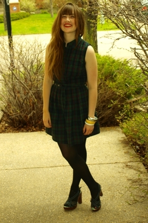 Zara dress - moms bracelet - Rocket Dog shoes - Friends bracelet - forever 21 br