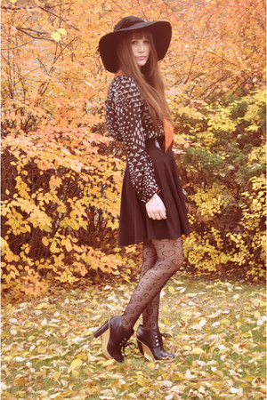 20ea0935acbbd tawny vintage blouse winners blouse - black Jessica Simpson hat
