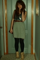 H&M dress - Zara boots - H&M purse