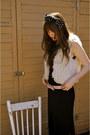 Black-maxi-maxi-dress-forever-21-dress-cream-china-town-vest-red-value-villa