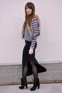 Black-stripes-h-m-top-black-maxi-skirt-forever-21-skirt-light-brown-blue-not