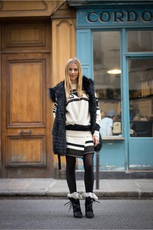 Isabel Marant boots - Isabel Marant sweater - Isabel Marant skirt