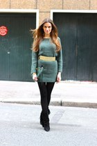 Maje belt - Isabel Marant boots