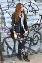 Isabel Marant jeans - IRO jacket - Isabel Marant sneakers